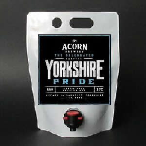 Yorkshire Pride 3 litre pouch