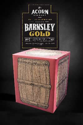 Barnsley Gold 10 litre beer in a box