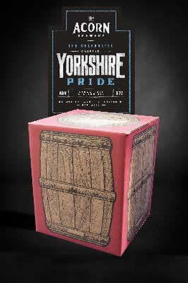 Yorkshire Pride 10 litre beer in a box