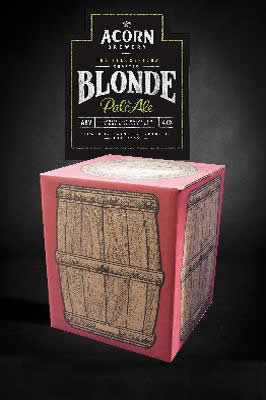 Blonde 10 litre beer in a box