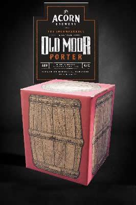 Old Moor Porter 10 litre beer in a box